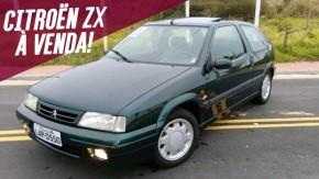 Quer colocar um hatch francês na garagem? Este Citroën ZX 2.0 16v está à venda!