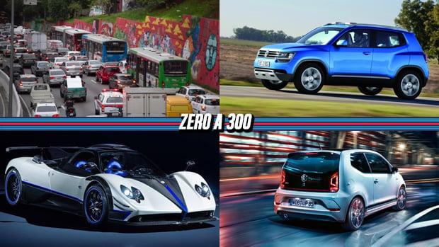Radares de velocidade média autuam 230 mil em SP, os lançamentos da Volkswagen nos próximos dois anos, Pagani lança maisum Zonda exclusivo e mais!