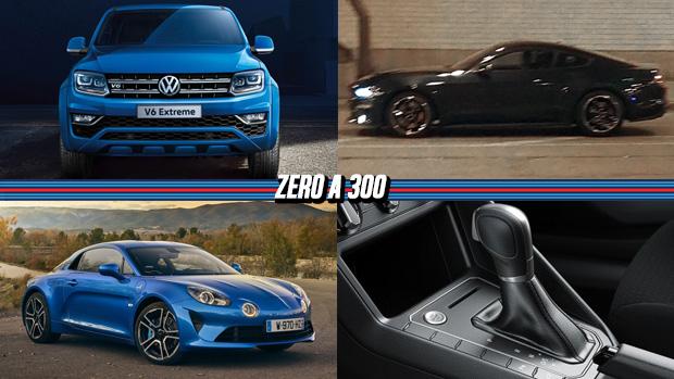Amarok V6 chega por R$ 185.000, Ford já tem um novo Mustang Bullitt, Jenson Button na Super GT japonesa e mais!