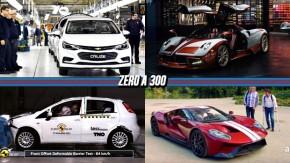 Um novo padrão para carros brasileiros e argentinos, um Pagani Huayra especial, Punto zera crash test e mais!