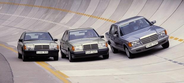 1985-Mercedes-Benz-sedans