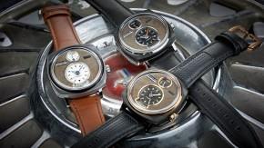 REC Watches, a empresa que transforma carros clássicos de ferro-velho em relógios de pulso