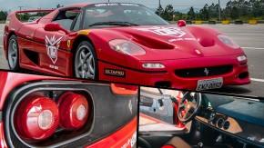 De carona na Ferrari F50: todos os detalhes do supercarro como você nunca viu!