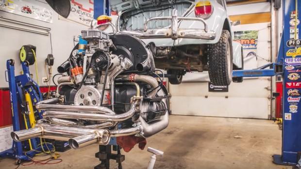Aircooled porn: conheça todos os detalhes da reconstrução de um boxer Volkswagen