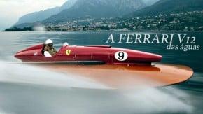 Esta lancha Ferrari é real, tem um motor V12 e é uma das coisas mais bonitas que já vimos