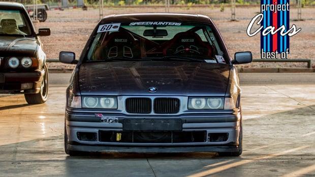 BMW 325i de drift: como está o Project Cars #397 depois de um ano?
