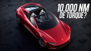 Será que o Tesla Roadster tem mesmo 10.000 Nm de torque nas rodas?