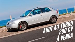 Este Audi A3 Turbo com motor 1.9 de 290 cv está à venda