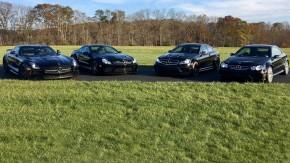Esta coleção de Mercedes-AMG Black Series é a melhor maneira de gastar US$ 1 milhão
