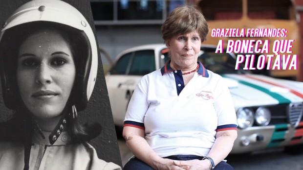 Graziela Fernandes, a pilota que corria de Alfa Romeo nos anos 70