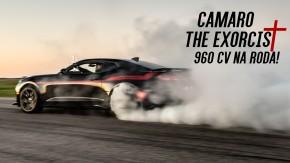"""""""The Exorcist"""": é assim que anda (e ronca) o Chevrolet Camaro de 1.000 cv da Hennessey"""