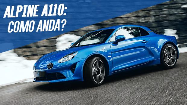 Como anda o Alpine A110, o esportivo retrô francês com motor turbo de 250 cv?
