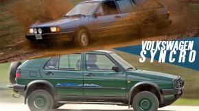 Golf e Quantum Syncro: quando a VW decidiu apostar na tração nas quatro rodas