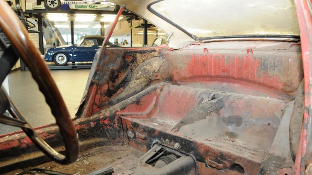 high_911_interior_barn_find_2017_porsche_ag
