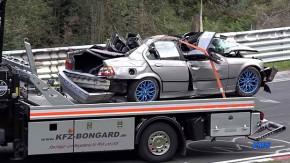 Vítimas do Inferno Verde: o triste fim dos carros que se acidentam em Nürburgring Nordschleife