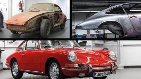 A Porsche restaurou o 911 mais antigo do planeta – veja os detalhes do processo!