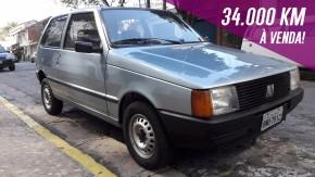 Este Fiat Uno Mille Electronic só rodou 34.000 km em 24 anos – e agora está à venda!