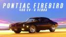 Este Pontiac Firebird Formula 400 com motor preparado e 400 cv está à venda no Brasil