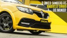 Aceleramos no Velo Città: o único Sandero RS Amarelo Sirius do mundo