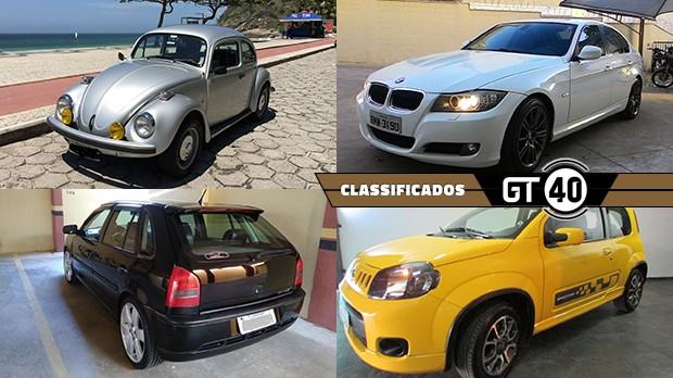 Um Fusca Série Ouro, um BMW 325i com câmbio manual, um Gol Power turbinado e mais novidades no GT40