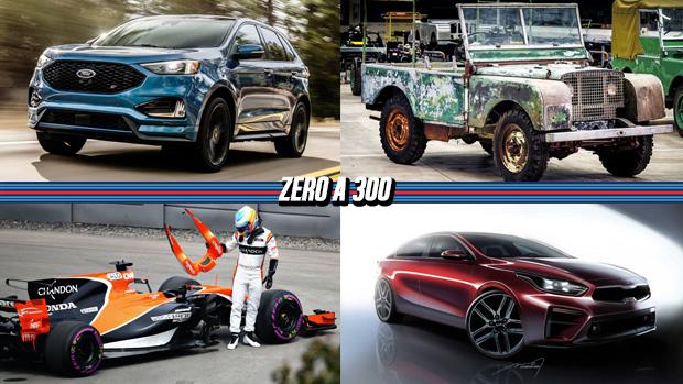 Ford terá Edge ST, drama da McLaren-Honda vira minissérie na internet, Land Rover restaura seu primeiro protótipo perdido e mais!