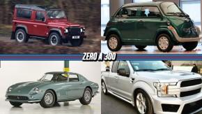 Land Rover Defender volta em edição limitada, a Ferrari de Pininfarina à venda, um Isetta elétrico e modernizado e mais!