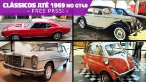Fãs de carros antigos: modelos fabricados até 1969 podem anunciar de graça no GT40 até semana que vem