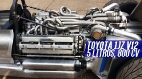 Este cara transformou dois motores 1JZ em um V12 biturbo — e vai usá-lo em um monoposto de rua!