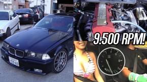 Ultimate VTEC Machine: quando alguns japoneses malucos colocaram o motor F20C do Honda S2000 em um BMW E36