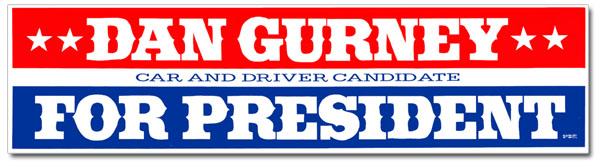 Dan-Gurney-For-President-Banner