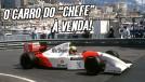 O McLaren MP4/8 da última vitória de Ayrton Senna em Mônaco está à venda