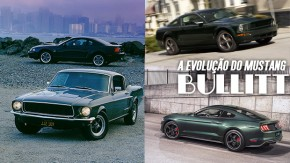 A evolução Mustang Bullitt, o pony car mais icônico do cinema, em 50 anos