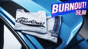 Burnout das camisetas do FlatOut Type e Stripe: atenção, serão descontinuadas!