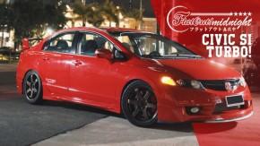 Honda Civic Si Turbo com kit Mugen: mais de 400 cv nas rodas e torque de V8 | FlatOut Midnight