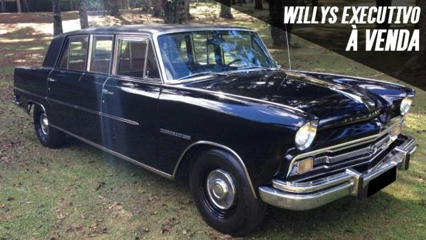 Uma das 19 limousines Willys Itamaraty Executivo sobreviventes está à venda!