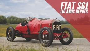 É assim que anda um Fiat com motor de dez litros feito 110 anos atrás