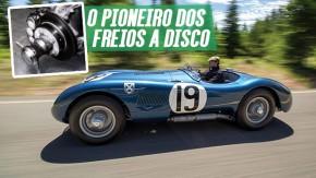 Como a Jaguar e as 24 Horas de Le Mans de 1953 nos deram os freios a disco