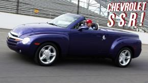 Chevrolet SSR: a picape hot rod conversível retrô com motor de Corvette de que o mundo não precisava