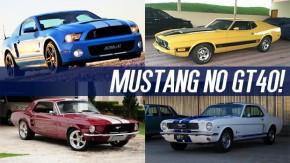 Os Ford Mustang mais bacanas à venda no GT40