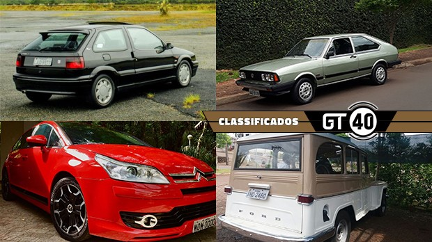 Um Citroën ZX Coupe, um Passat GTS íntegro e bem cuidado, um C4 Sport com 151 cv e câmbio manual e mais no GT40