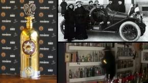 A vodka mais cara do mundo, feita em homenagem ao Rali Monte Carlo de 1912, foi roubada e encontrada dias depois, vazia e amassada