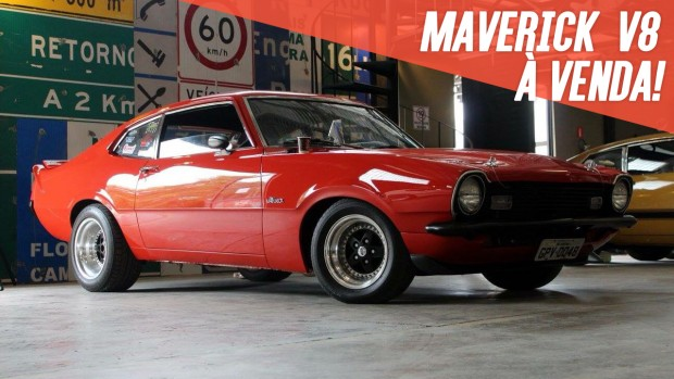 Este Ford Maverick com motor V8 302 e customização leve está à venda
