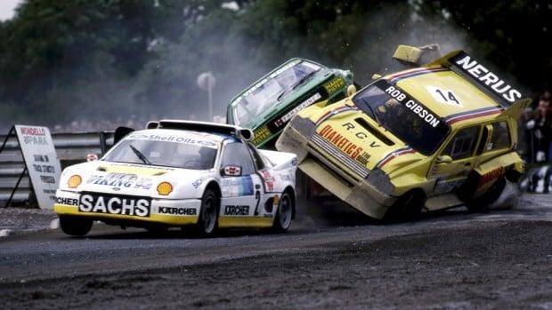 Épico: quando os carros aposentados do Grupo B se tornaram monstros de rallycross