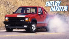 Shelby Dakota: quando Carroll Shelby inventou a Dakota com motor V8