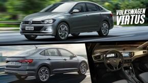 Volkswagen Virtus lançado: conheça preços, versões, itens de série e opcionais do sedã do Polo
