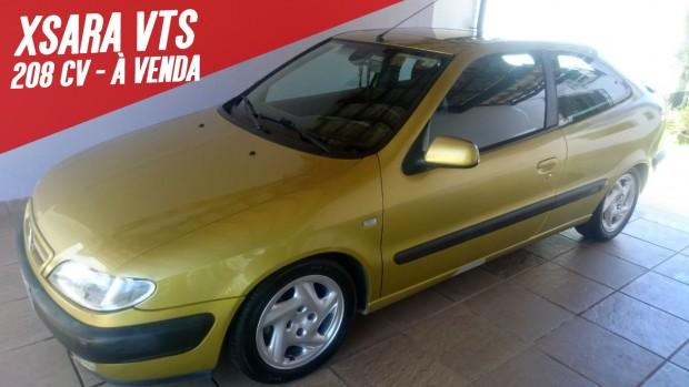 Que tal um Citroën Xsara VTS preparado com mais de 200 cv na sua garagem? Este aqui está à venda