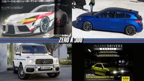 Toyota Supra vaza em revista japonesa, nova geração do Focus aparece sem disfarces, o novo Mercedes-AMG G63 e mais!