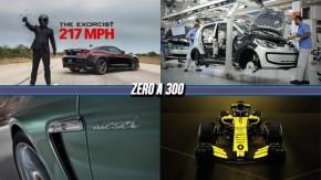 """Hennessey leva o Camaro """"The Exorcist"""" aos 350 km/h, Rota 2030 será anunciado """"nos próximos dias', o fim dos Porsche diesele mais!"""