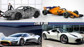 A nova geração do Porsche 911,McLaren volta a usar pintura laranja, a possível volta do Lister Storm e mais!