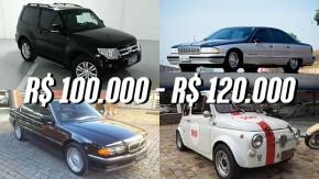 Os carros de R$ 100 mil a R$ 120 mil mais legais anunciados no GT40